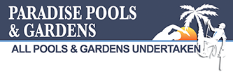Paradise Pools and Gardens Logo